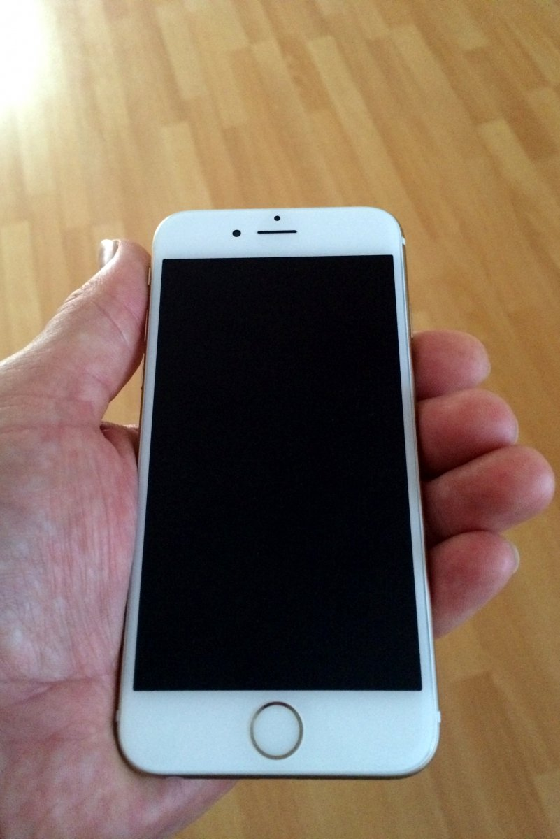 iPhone 6 Gold Vorderseite