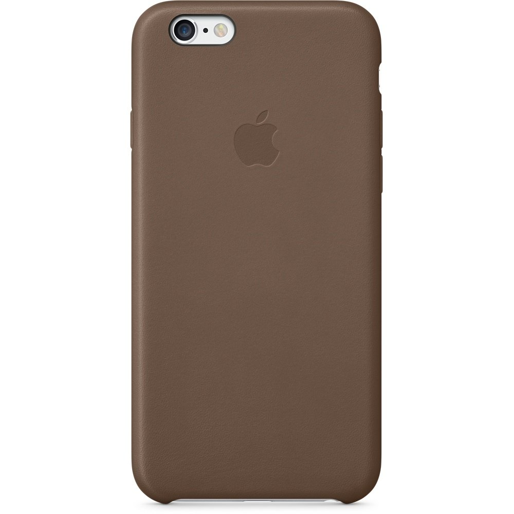 iPhone 6 Leder Case Olive Brown